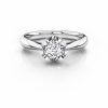 Angelica - 0.41ct, G/VS2, Platinum, Size N