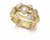 Cascade 2 - 18ct Yellow Gold, Size O